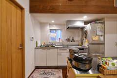 キッチンの様子。(2017-05-19,共用部,KITCHEN,1F)