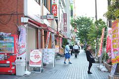 駅前の商店街の様子。(2017-05-19,共用部,ENVIRONMENT,1F)