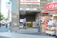 各線・門前仲町駅の様子。(2017-05-19,共用部,ENVIRONMENT,1F)