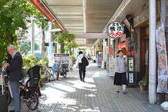 駅前の商店街の様子2。(2017-05-19,共用部,ENVIRONMENT,1F)