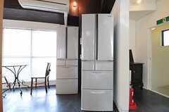 冷蔵庫は2台設置されています。(2012-09-05,共用部,KITCHEN,4F)