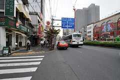 各線・門前仲町駅前の様子。(2012-09-05,共用部,ENVIRONMENT,1F)