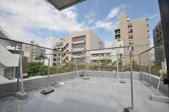 屋上の様子。(2009-09-08,共用部,OTHER,5F)