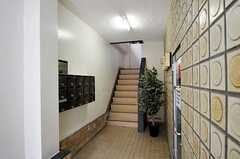 マンションのエントランス。(2011-03-15,周辺環境,ENTRANCE,1F)