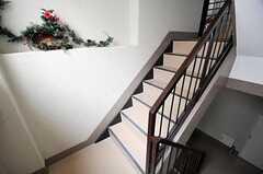 階段の様子。(2011-03-15,共用部,OTHER,3F)