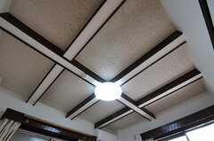 天井の様子。(304号室)(2011-03-15,専有部,ROOM,3F)
