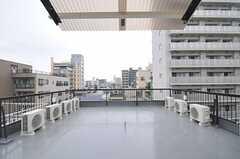 屋上の様子3。(2011-03-15,共用部,OTHER,5F)