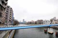 近くには隅田川が流れています。(2011-03-15,共用部,ENVIRONMENT,1F)