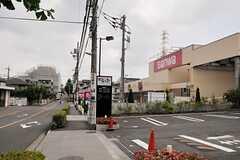シェアハウスから各線・町田駅へ向かう道の様子。(2014-06-25,共用部,ENVIRONMENT,1F)