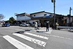 小田急小田原線・玉川学園前駅の様子。(2016-10-18,共用部,ENVIRONMENT,1F)