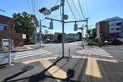 玉川学園前駅からシェアハウスへ向かう道の様子。(2016-10-18,共用部,ENVIRONMENT,1F)