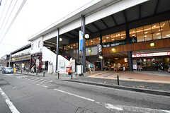 小田急小田原線・玉川学園前駅の様子2。(2017-03-02,共用部,ENVIRONMENT,1F)