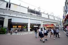 東急東横線・学芸大学駅の様子。(2013-07-22,共用部,ENVIRONMENT,1F)