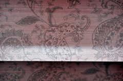 トイレの壁紙が目を惹きます。(2010-04-09,共用部,TOILET,1F)