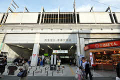 東急東横線学芸大学駅の様子。(2010-04-09,共用部,ENVIRONMENT,1F)