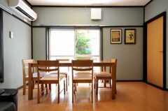シェアハウスのリビングの様子3。(2010-06-17,共用部,LIVINGROOM,1F)