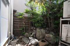 坪庭もあります。(2010-06-17,共用部,OTHER,1F)