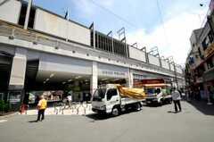 東急東横線学芸大学駅の様子。(2010-06-17,共用部,ENVIRONMENT,1F)