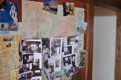 写真なども掲示されています。(2013-03-08,周辺環境,ENTRANCE,1F)