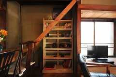 棚にも個性あふれる品々が。(2013-03-08,共用部,OTHER,1F)
