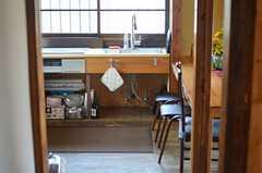 シンク下は収納スペースです。(2013-03-08,共用部,KITCHEN,1F)