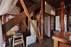 階段は耐震補強もされています。(2013-03-08,共用部,OTHER,1F)