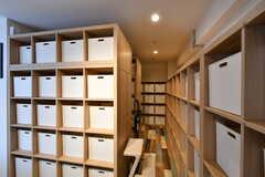 食料品などに収納ボックスは、専有部ごとに3つ使えます。(2019-03-07,共用部,OTHER,1F)