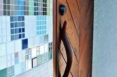 壁のタイルもステキです。(2011-02-01,共用部,OTHER,1F)