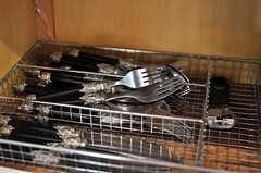 フォークやナイフもステキです。(2011-02-01,共用部,OTHER,1F)