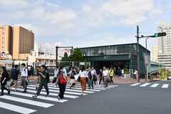 各線・恵比寿駅のガーデンプレイス口の様子。(2019-09-27,共用部,ENVIRONMENT,1F)