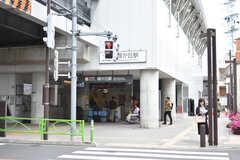 東急大井町線・緑が丘駅の様子。(2019-05-09,共用部,ENVIRONMENT,1F)
