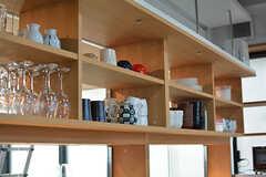 食器棚の様子。(2017-05-08,共用部,KITCHEN,7F)