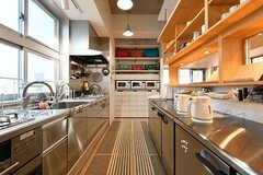 キッチンの様子3。(2017-05-08,共用部,KITCHEN,7F)