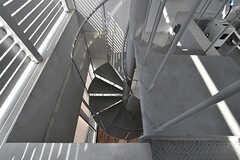 らせん階段の様子。(2017-05-08,共用部,OTHER,8F)