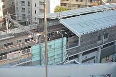 屋上からは都立大学駅がすぐ近くに見えます。(2017-05-08,共用部,OTHER,8F)