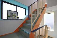階段の様子。(2014-03-20,共用部,OTHER,2F)