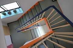階段の様子。(2014-03-20,共用部,OTHER,3F)