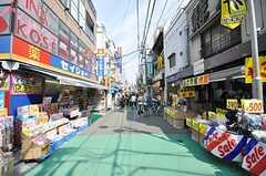 東急東横線・学芸大学駅前の様子。(2009-04-08,共用部,ENVIRONMENT,1F)