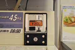 洗濯機は有料、乾燥機は無料です。(2010-07-16,共用部,OTHER,1F)