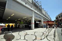 東急東横線・学芸大学駅の様子。(2010-07-16,共用部,ENVIRONMENT,1F)