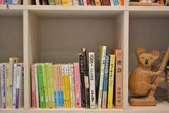 スタディルームには様々な書籍が用意されています。入居者さんの書籍を置いても良いとのこと。(2016-09-01,共用部,OTHER,1F)