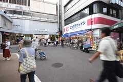 東急東横線・学芸大学駅の様子。(2016-09-01,共用部,ENVIRONMENT,1F)