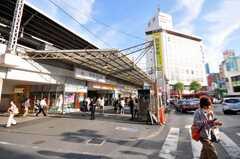 東急東横線自由が丘駅の様子。(2009-06-11,共用部,ENVIRONMENT,1F)