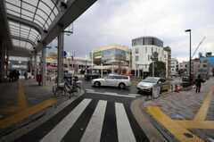東急目黒線・西小山駅周辺の様子。(2011-03-31,共用部,ENVIRONMENT,1F)