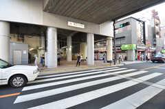 東急東横線・都立大学駅の様子。(2015-05-29,共用部,ENVIRONMENT,1F)