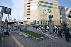 各線・恵比寿駅の様子。(2014-06-09,共用部,ENVIRONMENT,1F)