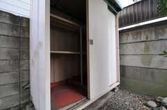 物置付きです。(108号室)(2014-02-06,専有部,ROOM,1F)