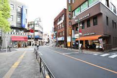 東急東横線・都立大学駅前の様子。(2020-09-17,共用部,ENVIRONMENT,1F)