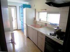 キッチンの様子。(2007-07-17,共用部,KITCHEN,2F)