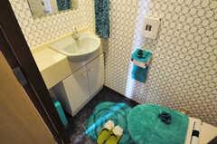トイレの様子。(2012-11-21,共用部,TOILET,6F)